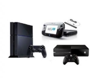 Xbox One + PS4 + WiiU